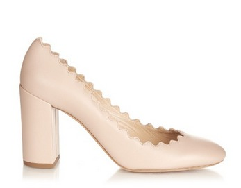 Chloe-Lauren-scalloped-edge-block-heel-leather-pumps