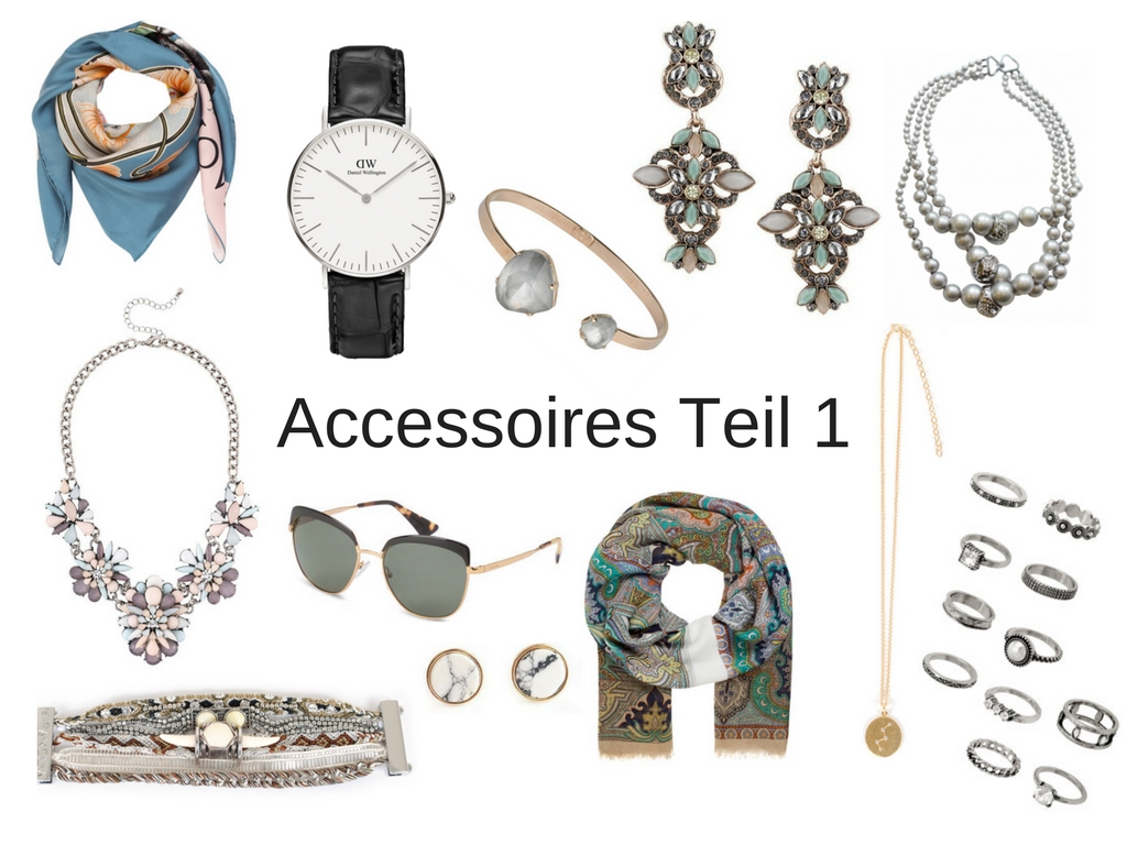 welche Accessoires passen zu welchem Outfit