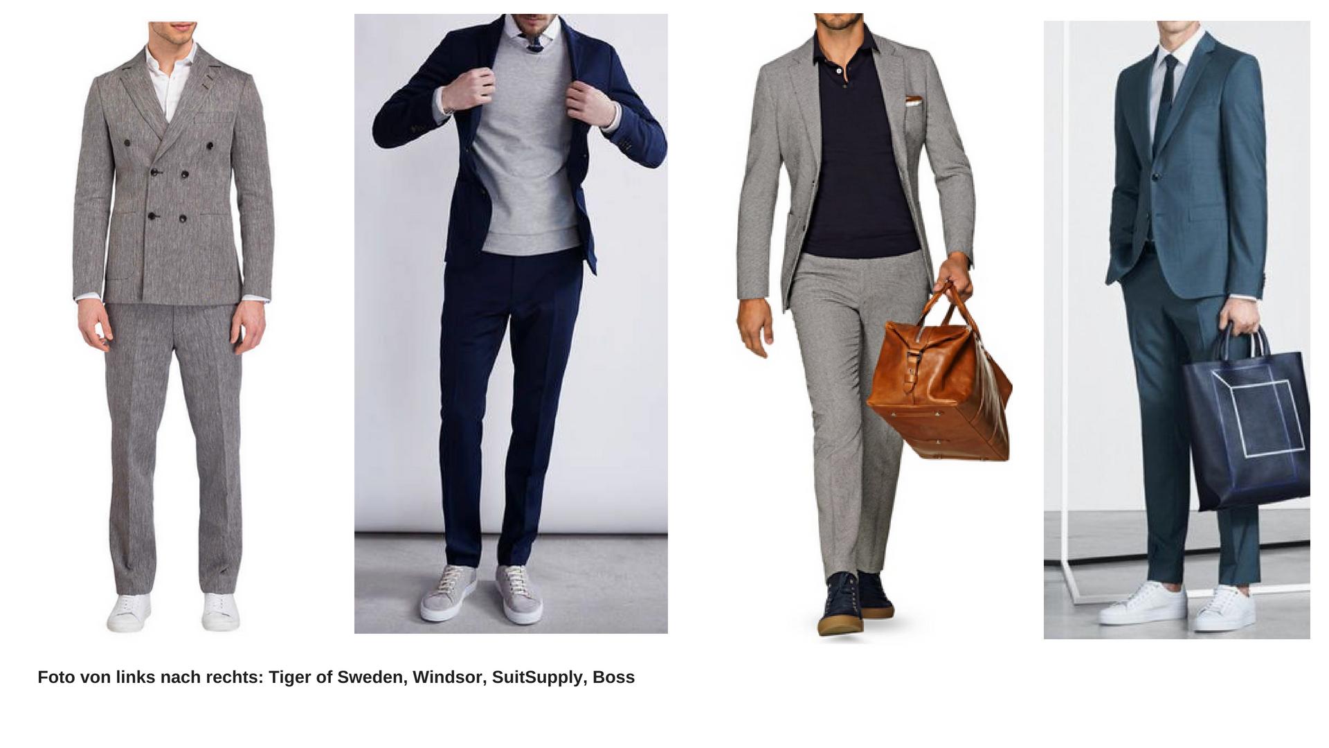 Man Kombiniert Zum Anzug Wie Sneaker 0Nnw8m