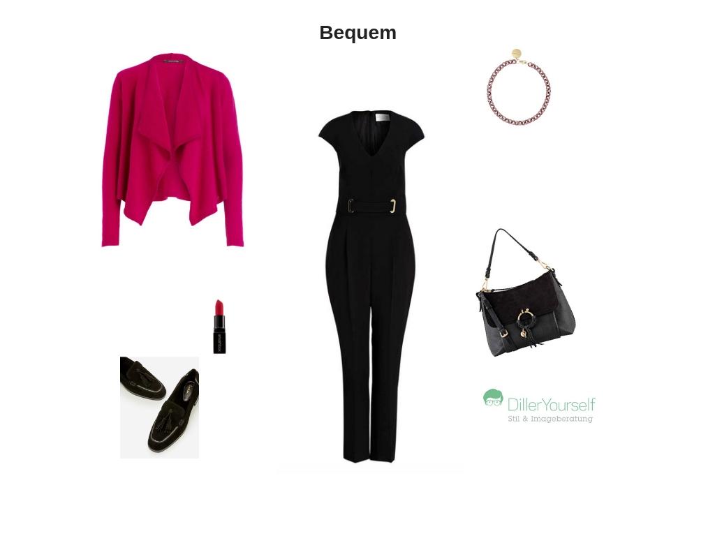 870895782985 Eine edle Statement-Kette in Rosé rundet Ihr Outfit in Kombination mit  einer schicken Tasche und einem gleichfarbigen Lippenstift elegant ab.