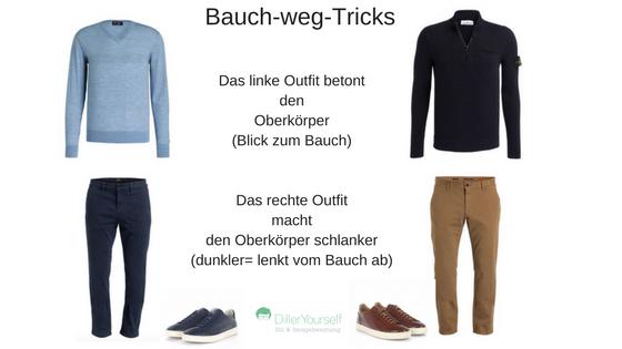 Kleidungs Tipps Fur Manner Mit Bauch