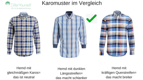 29b01156c0b1e8 Meine drei Beispielhemden illustrieren das sehr schön: die Farben sind  stimmig, wenig knallig und durch die Fokussierung auf Längsstreifen wirken  das Hemden ...